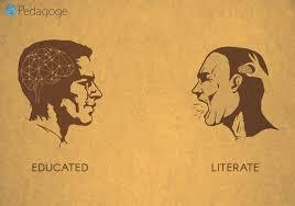 The Story of Literacy vs Education In India.